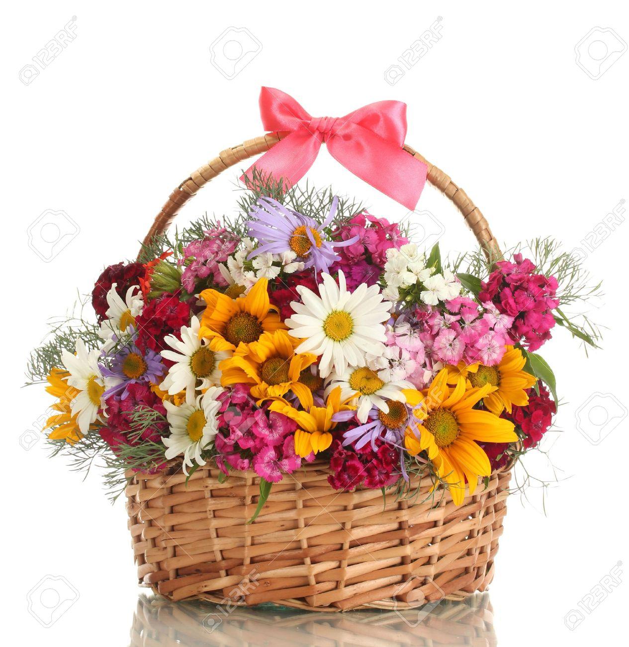 LO SCIOCCO (una storia da raccontare ) 15009127-bellissimo-mazzo-di-fiori-di-campo-luminoso-nel-carrello-isolato-su-bianco-Archivio-Fotografico