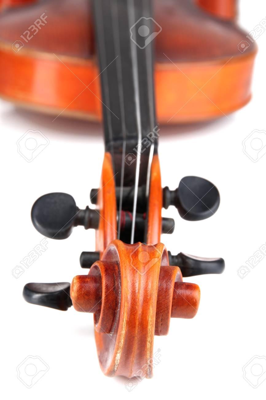 Classical violin close up Stock Photo - 19300948