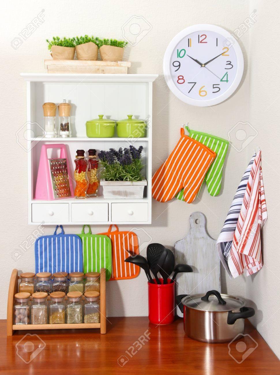Beautiful kitchen interior Stock Photo - 20848919