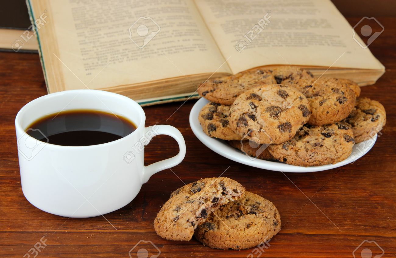 Image result for books and cookies image