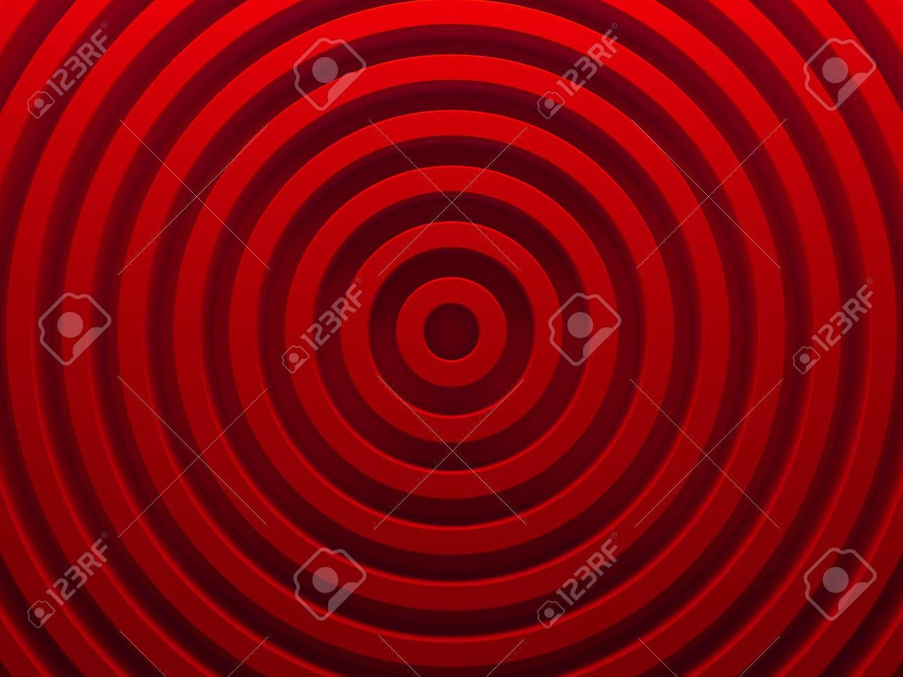 Red Abstract Radial Background 3d Illustration This Image Works