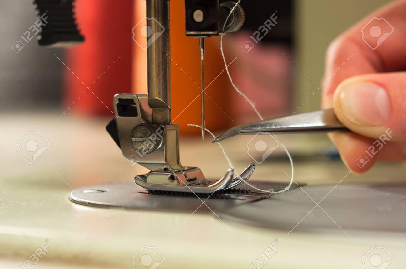 Sewing Machine Tweezers