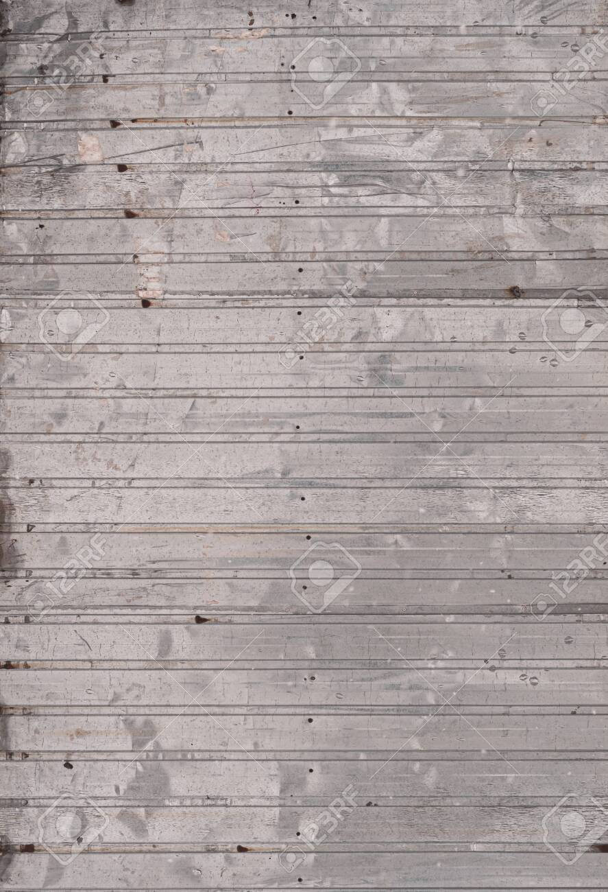 Old Corrugated Galvanized Sheet As Background Vertical Metal Stock Photo Picture And Royalty Free Image Image 134830490