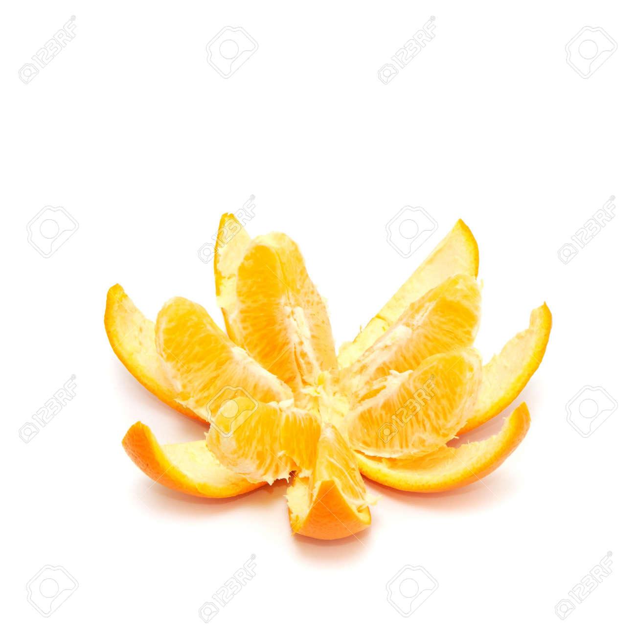 Orange isolated on a white background Stock Photo - 2917985