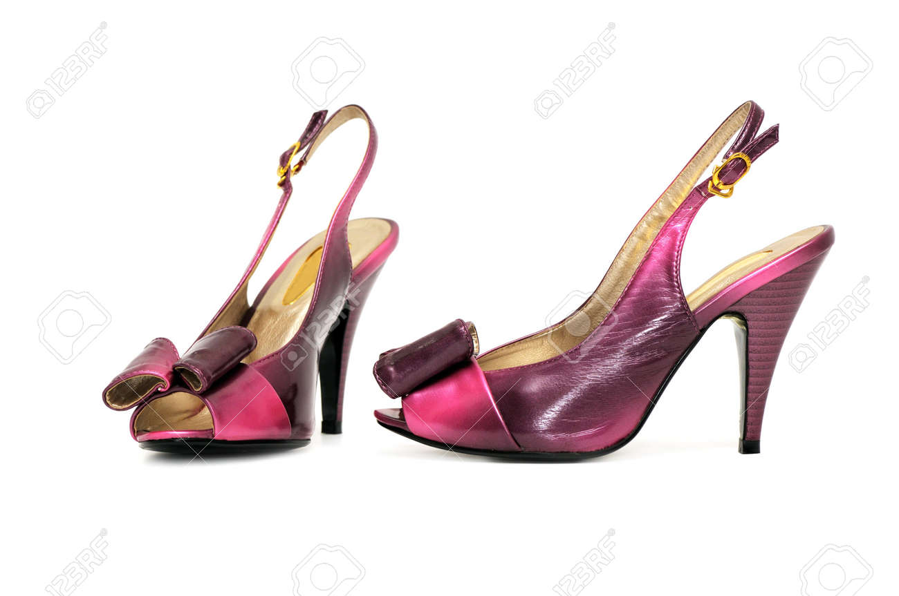 shoes on a white background Stock Photo - 3653562