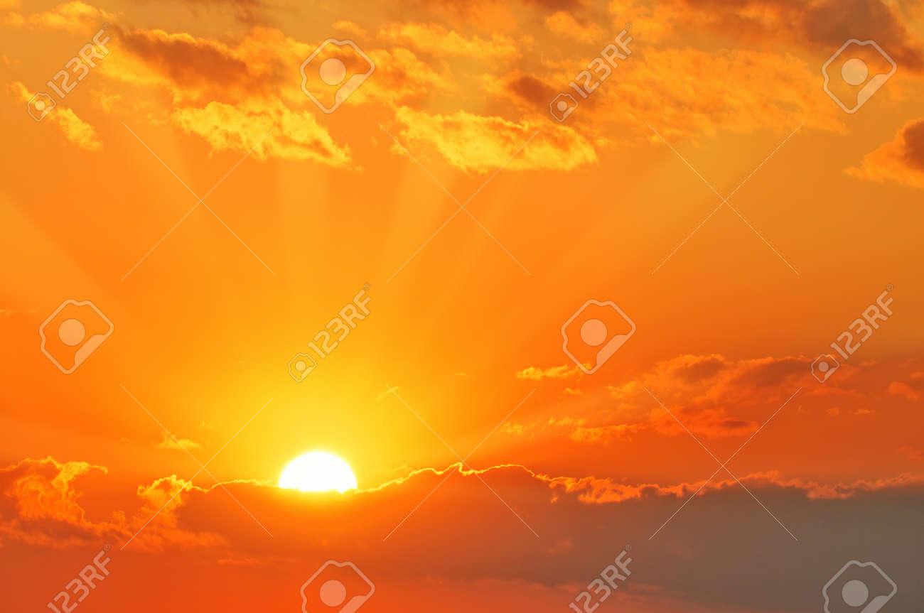 beautiful sunset Stock Photo - 7822663