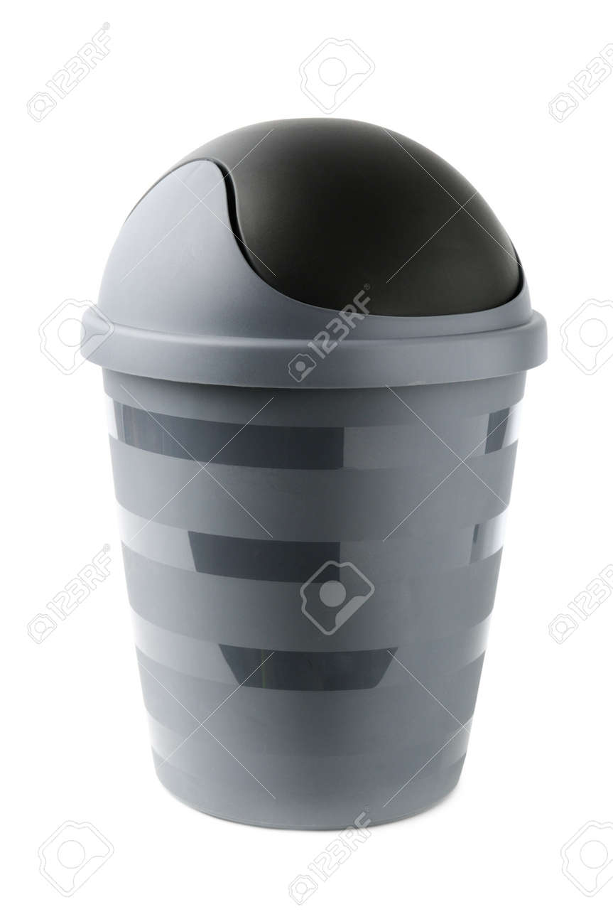 office trashcan isolated on white background Stock Photo - 12928741