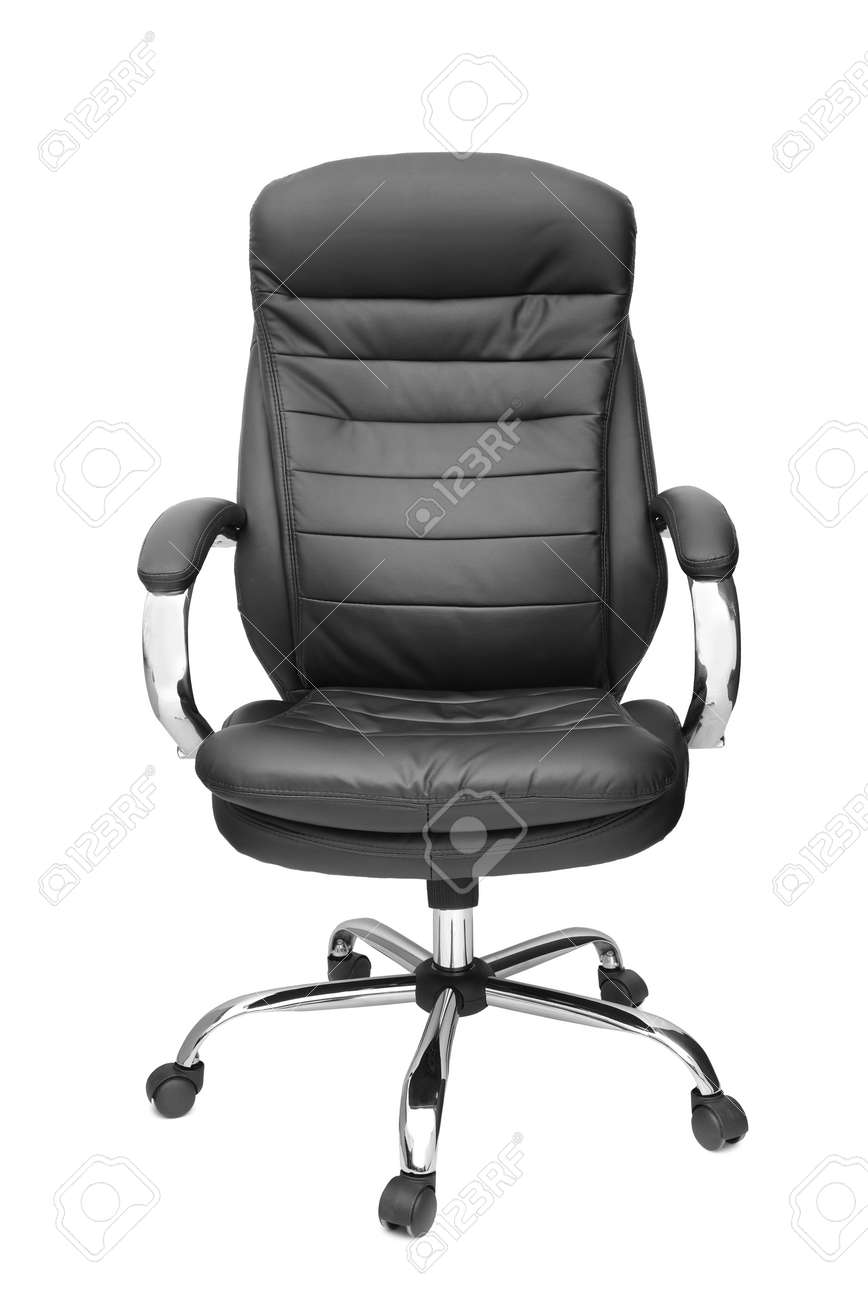 office chair isolated on white background - 45519481