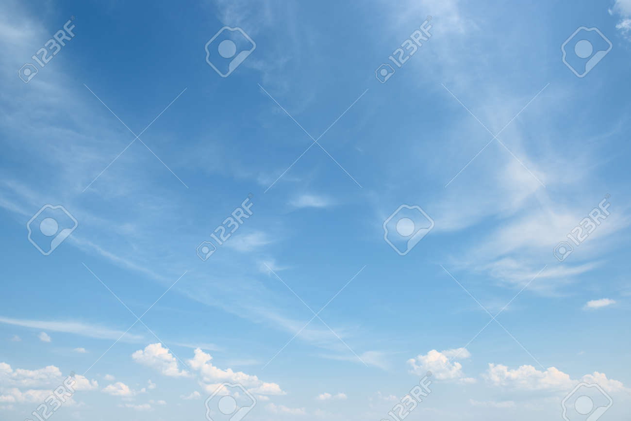 white cloud on blue sky - 52073545