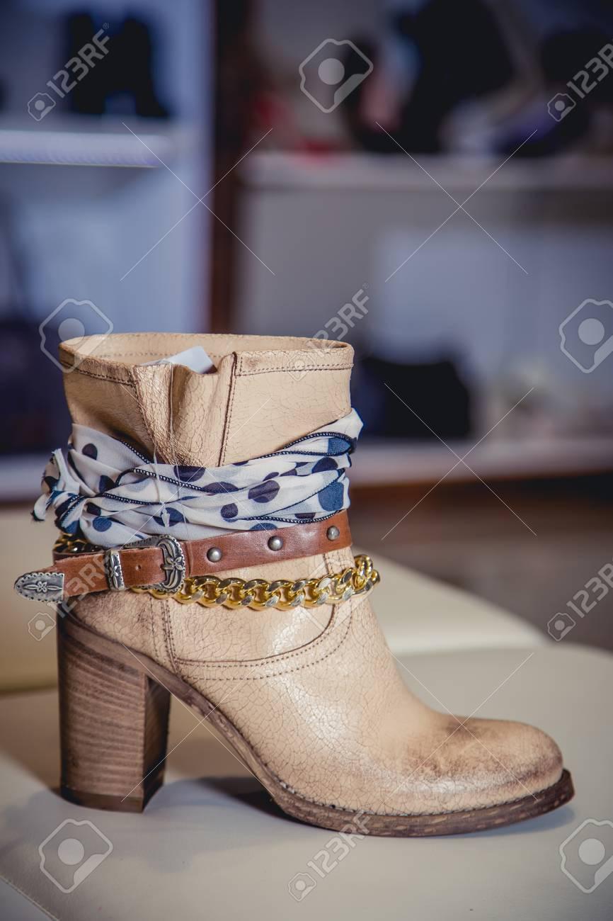 bottes femme italienne