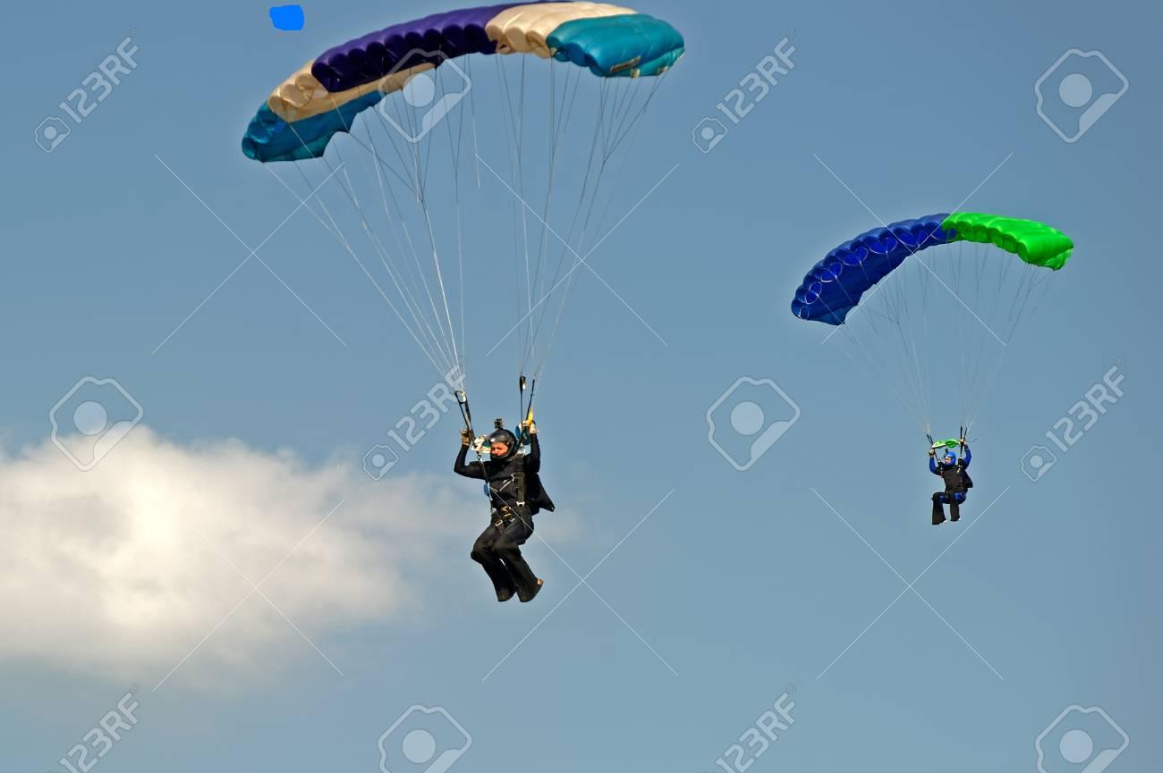 parachutisme du passe
