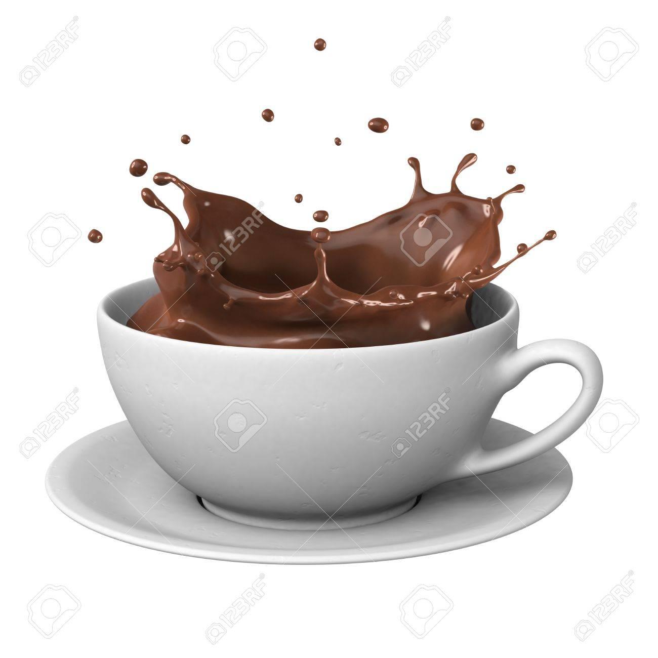 Taza De Chocolate Caliente Imágenes De Archivo, Vectores, Taza De ...
