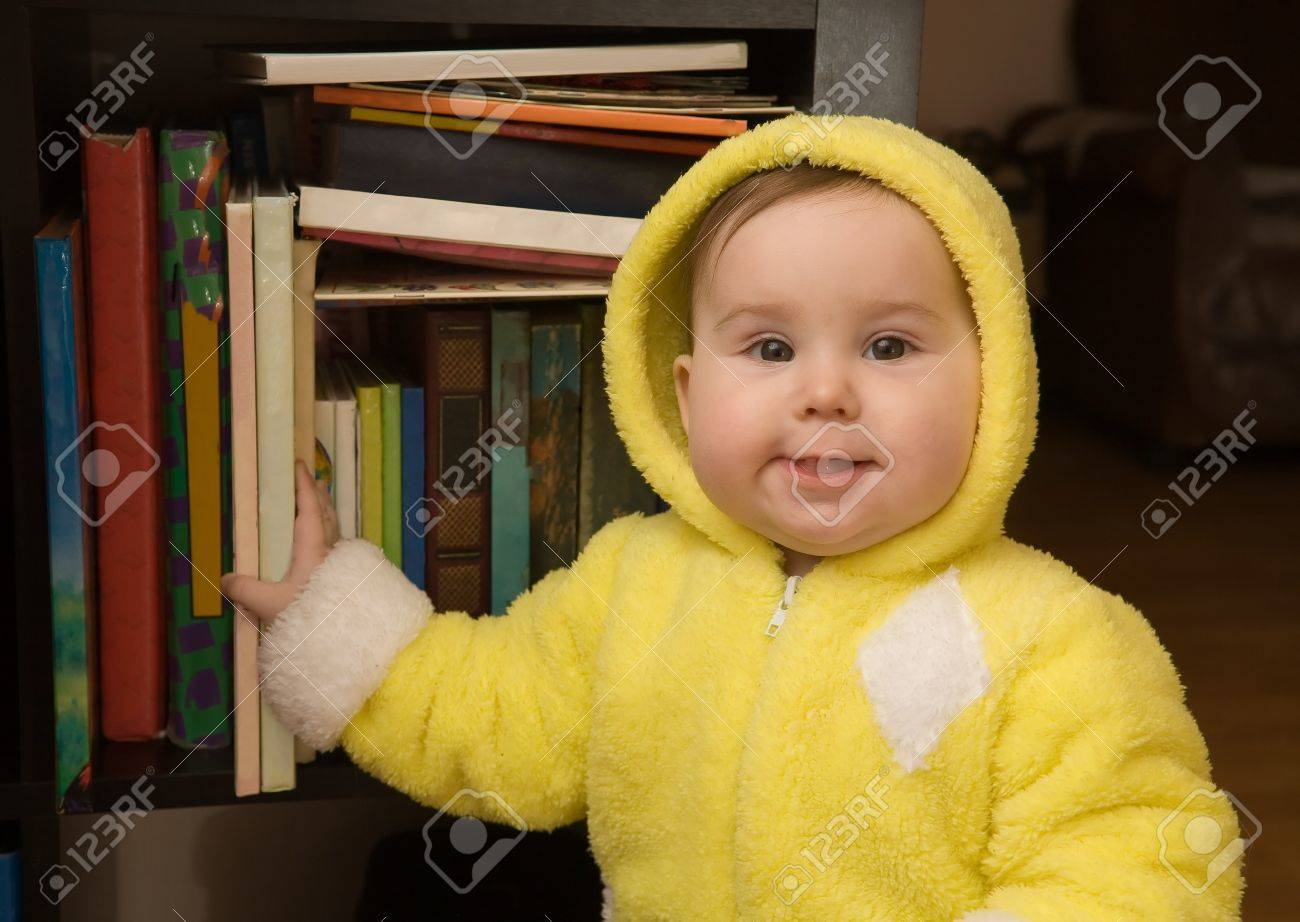 Cute Baby Yellow Dress Cute Baby Girl in Yellow Dress
