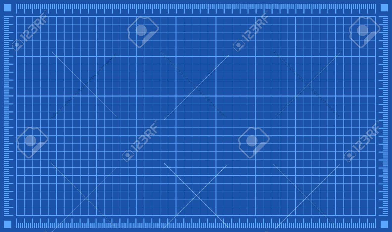Blueprint Background Vector Illustration Stock Vector   31023363