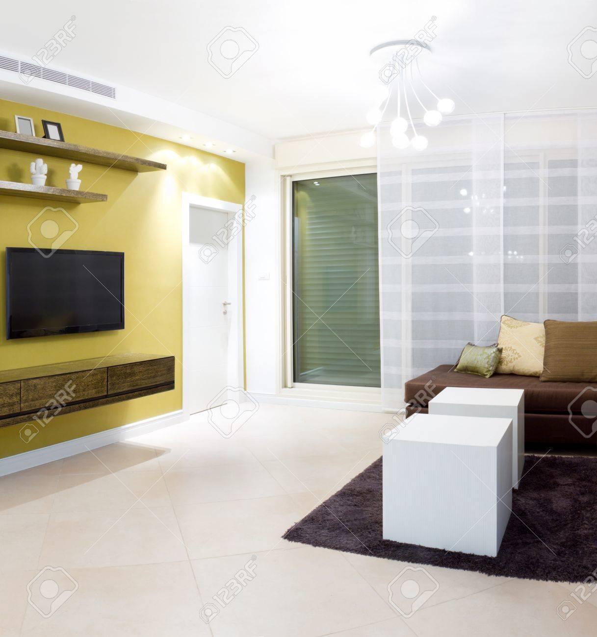 Design d\'intérieur dans une maison neuve
