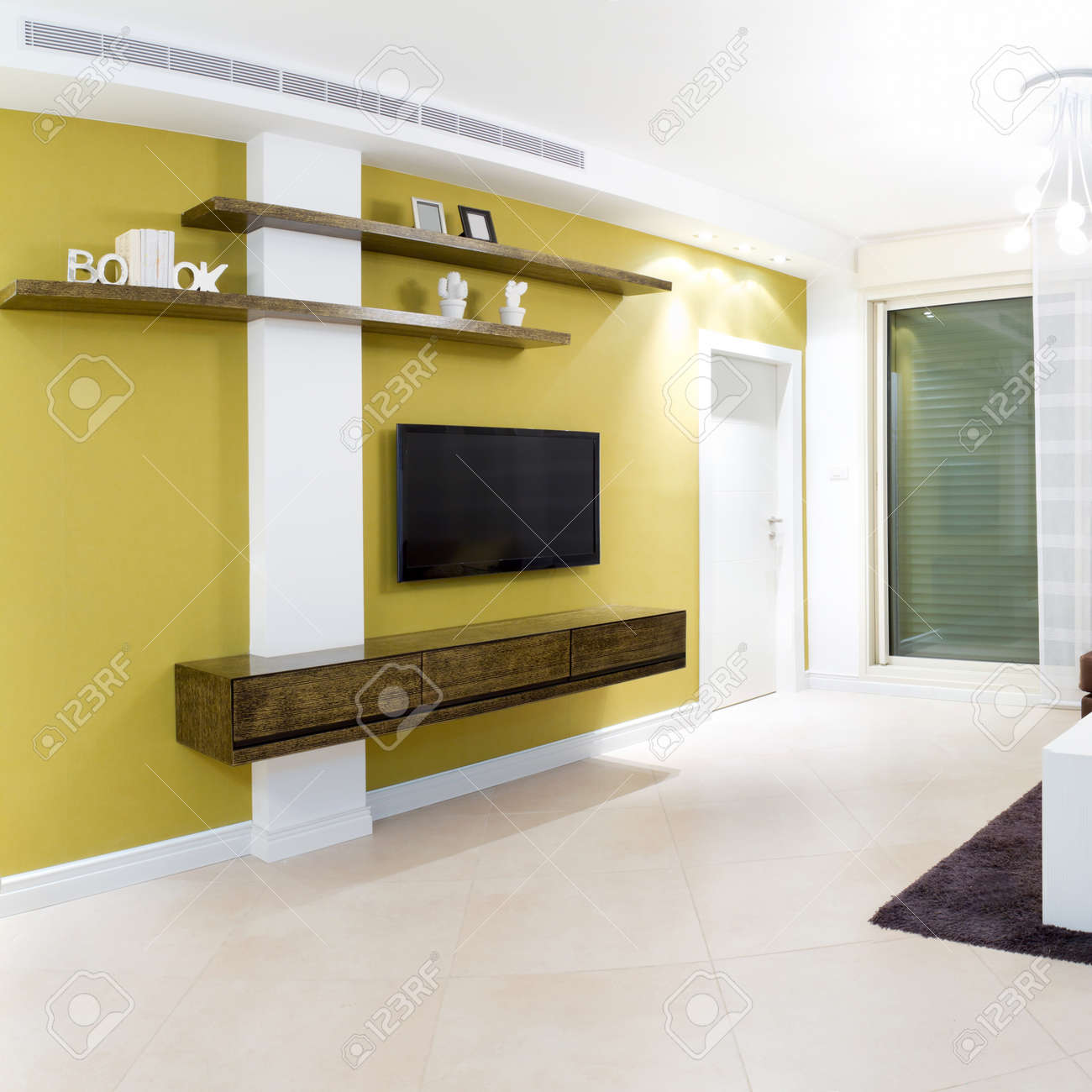 Interior Design In A New House Stock Photo   13985587