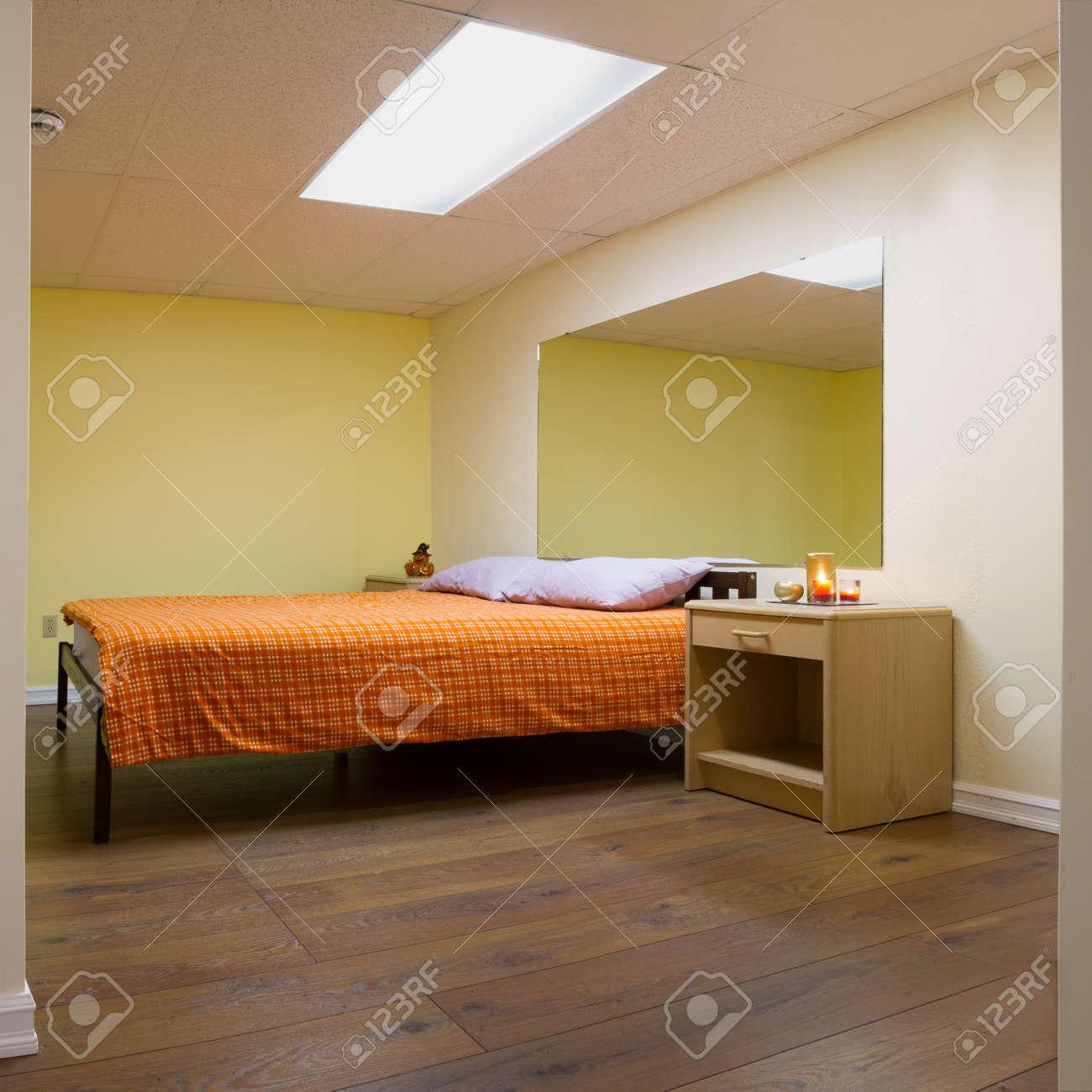 Chambre Design D Interieur Avec Des Meubles Dans Une Nouvelle Maison