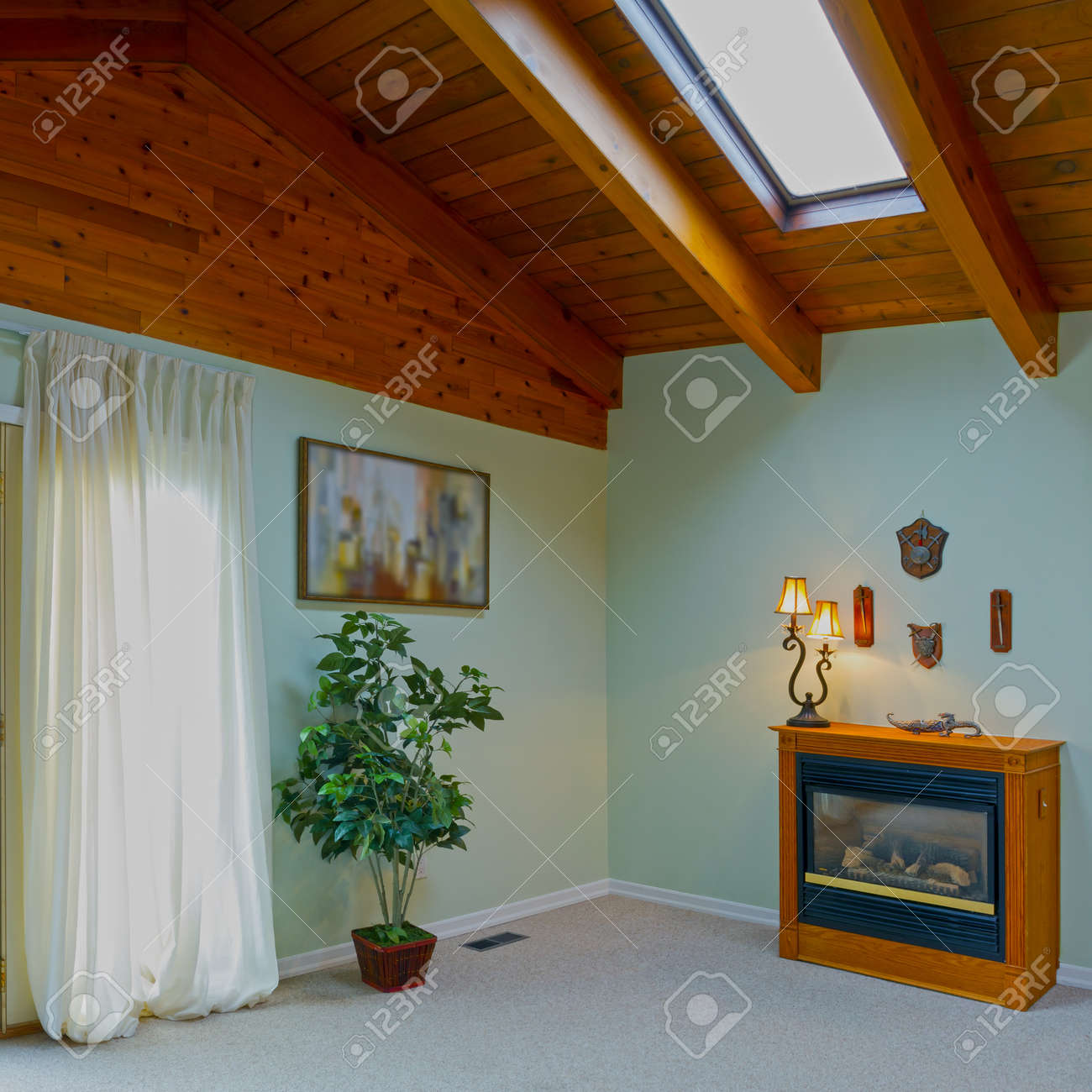 Interior design in a new house Stock Photo - 19001680