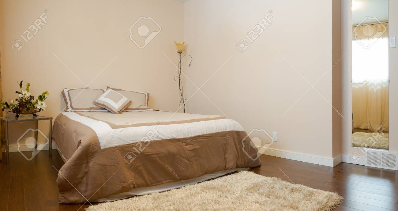 Bedroom interior design  in a new house. Stock Photo - 19663091