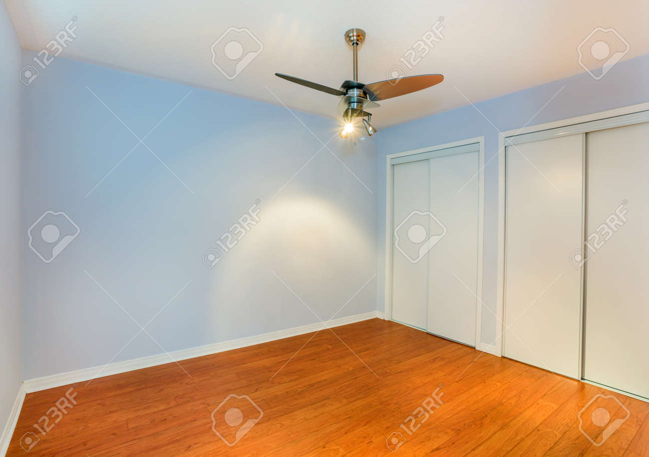 Empty Bedroom In A New Apartment Stock Photo Picture And Royalty