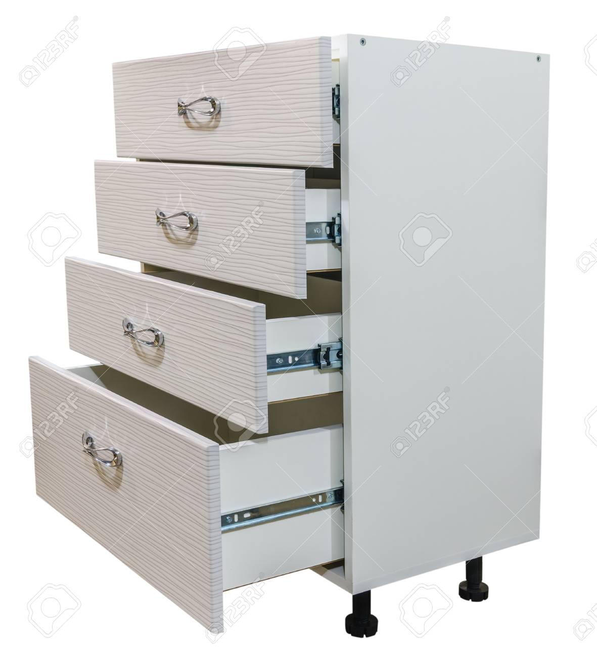 module furniture. Furniture Module Kitchen Cupboard On A White Background Isolate Stock Photo - 95079389
