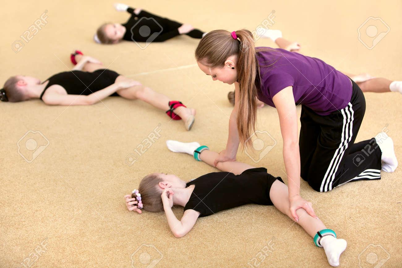 Фото худые гимнастки 23 фотография