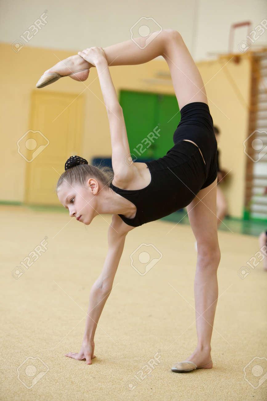 Фото с молодой гимнасткой 8 фотография