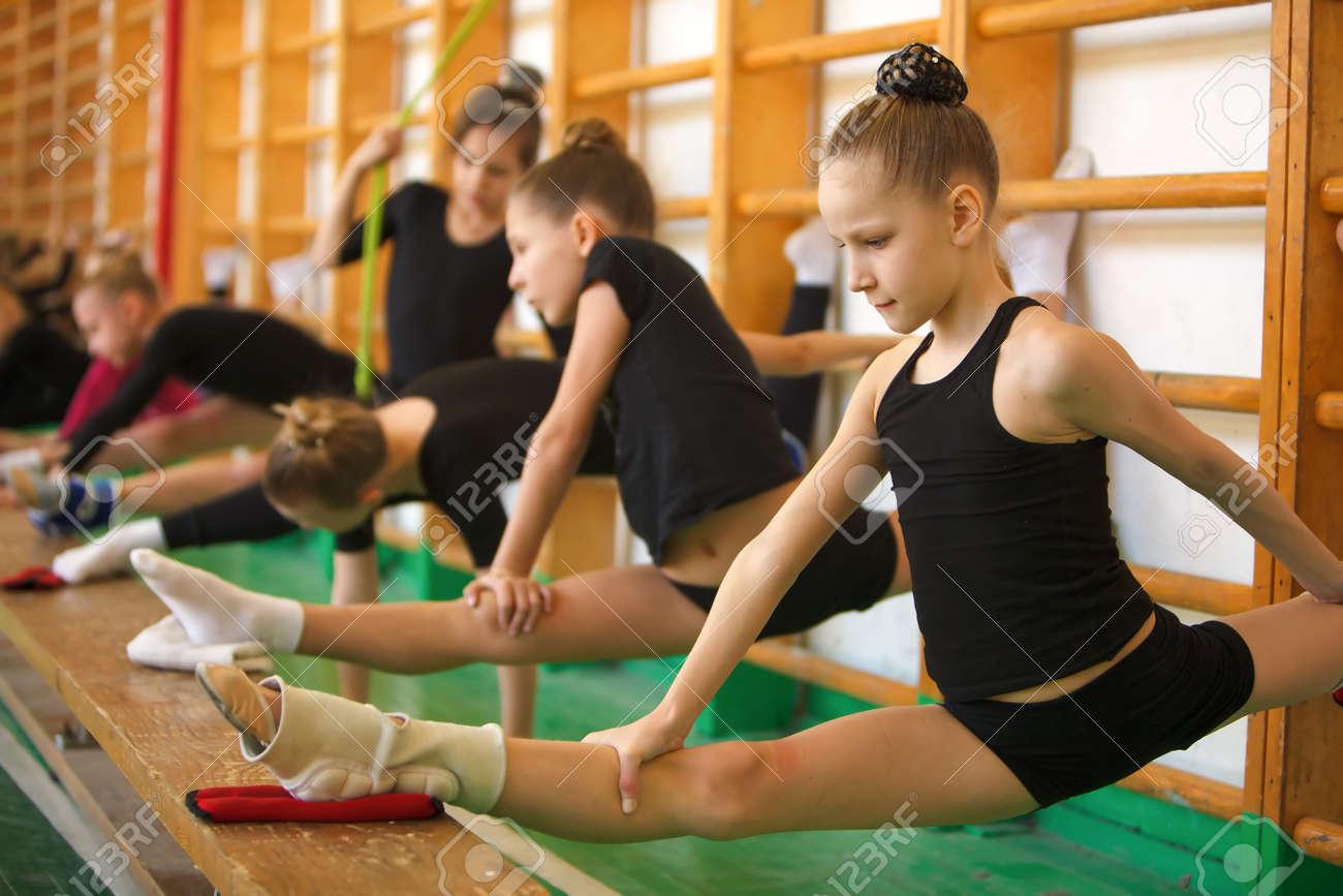 Фото молоденькие гимнасток 18 фотография