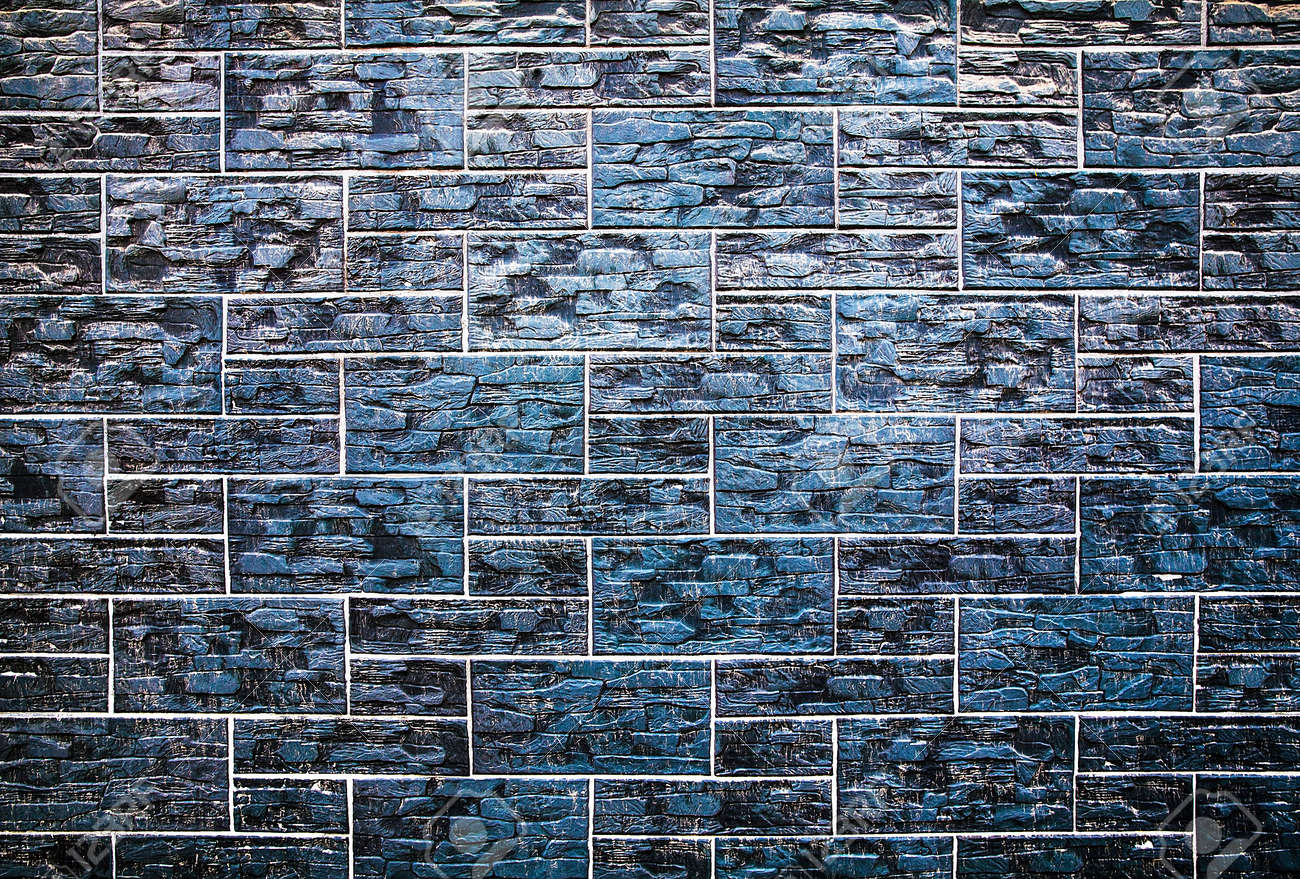 Abstract Texture Of The Stone Masonry Colored Stone. Stone Wall ...