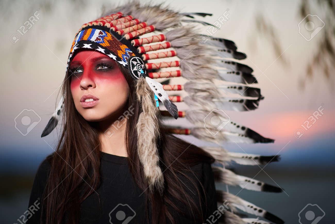 アメリカ ・ インディアンのスー...
