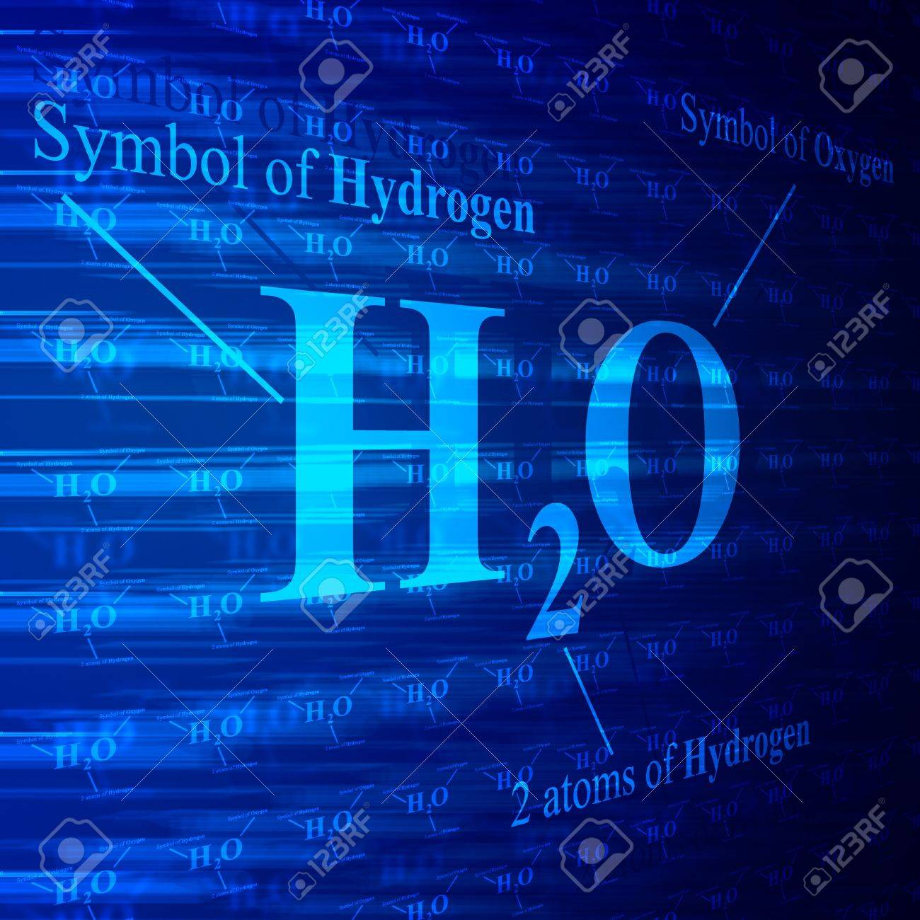 Chemical formula of water h2o on blue digital screen stock photo chemical formula of water h2o on blue digital screen stock photo 12132771 buycottarizona Choice Image