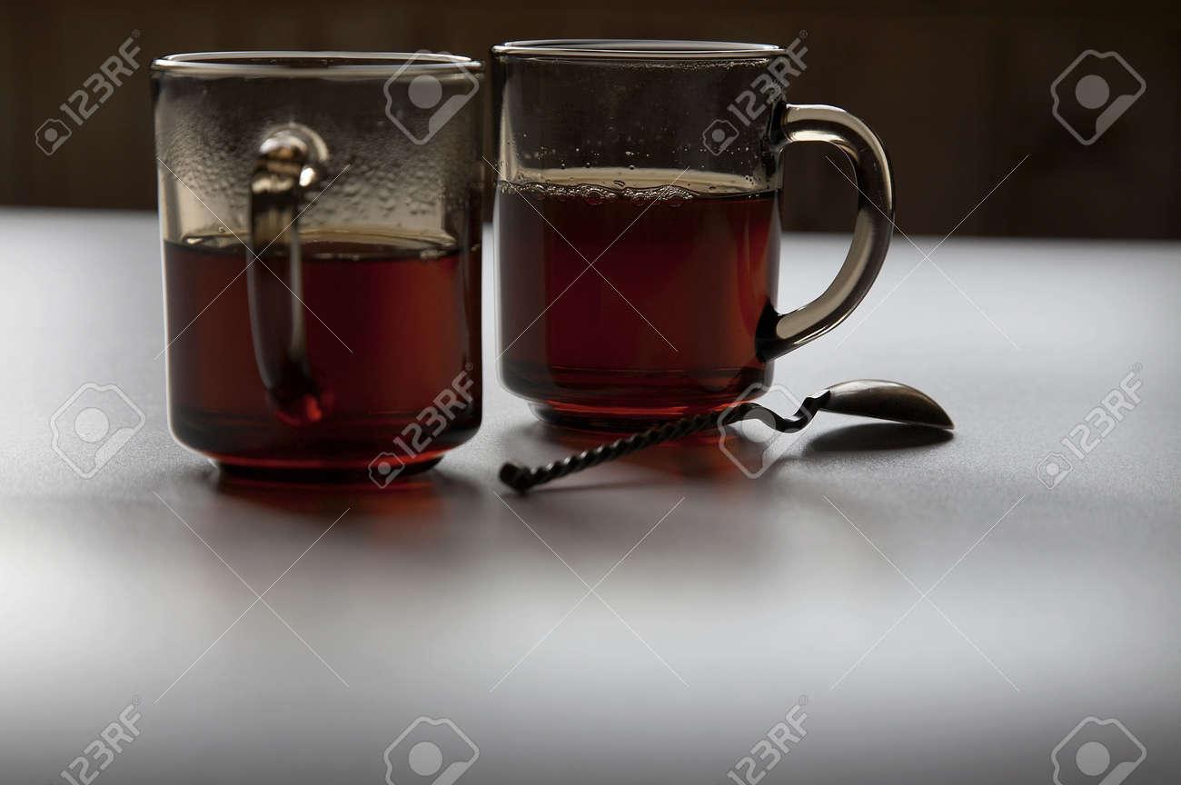 Glasses with tea Stock Photo - 4118072