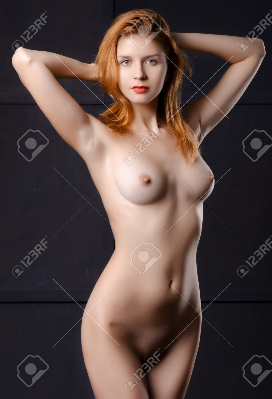 Red haired girl nude