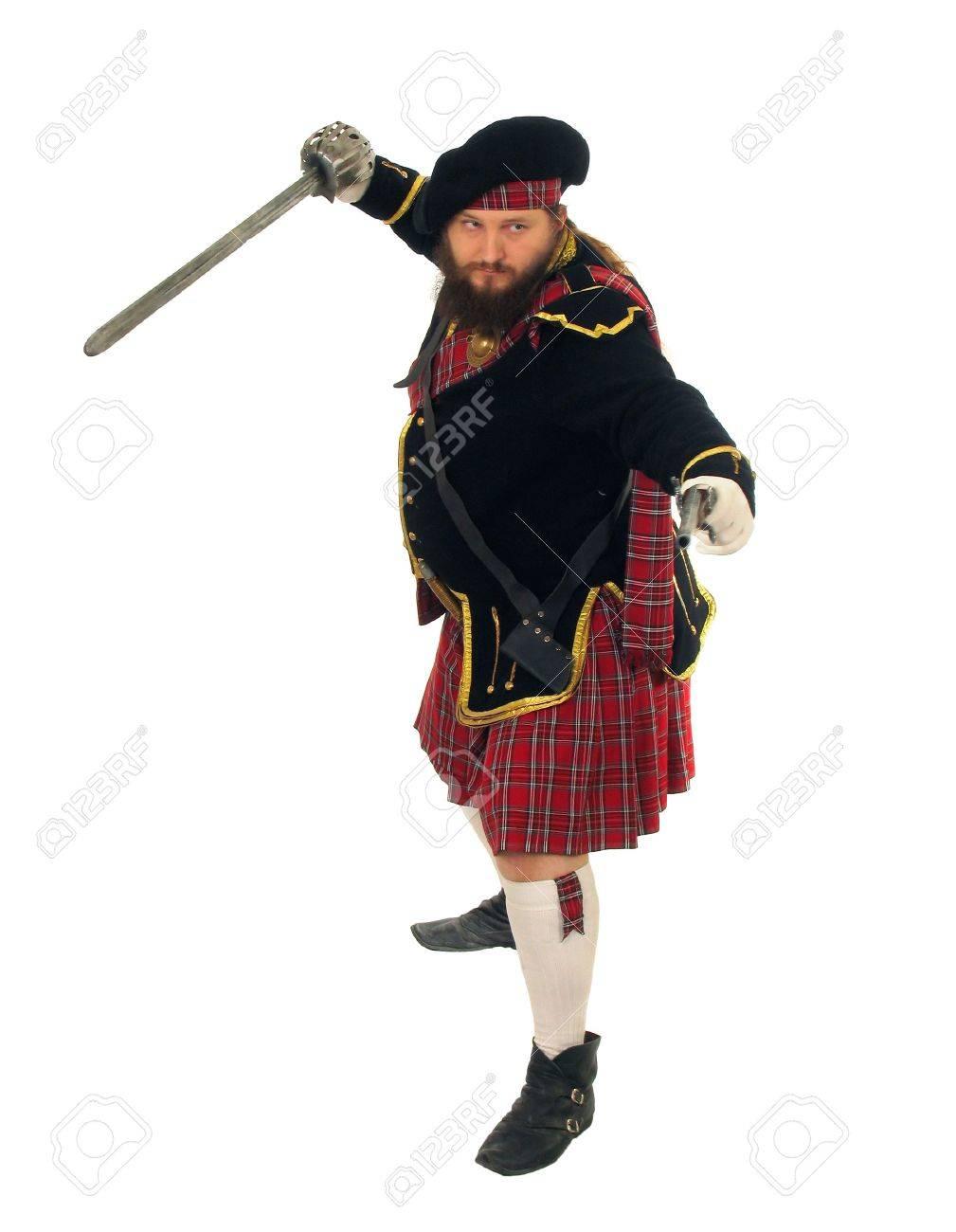 Scottish Warrior Stock Photos & Scottish Warrior Stock Images - Alamy
