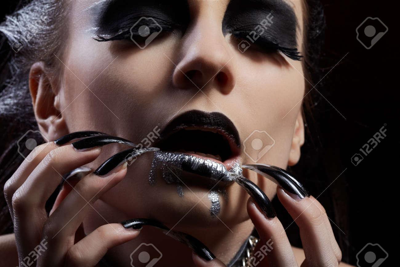 maquillaje de presa