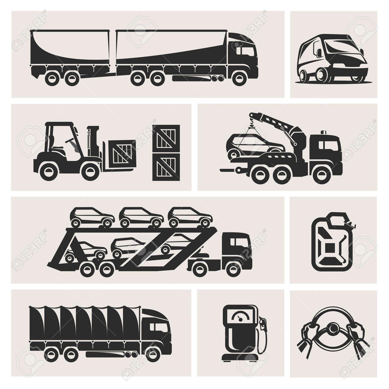 transportation Stock Vector - 16304372