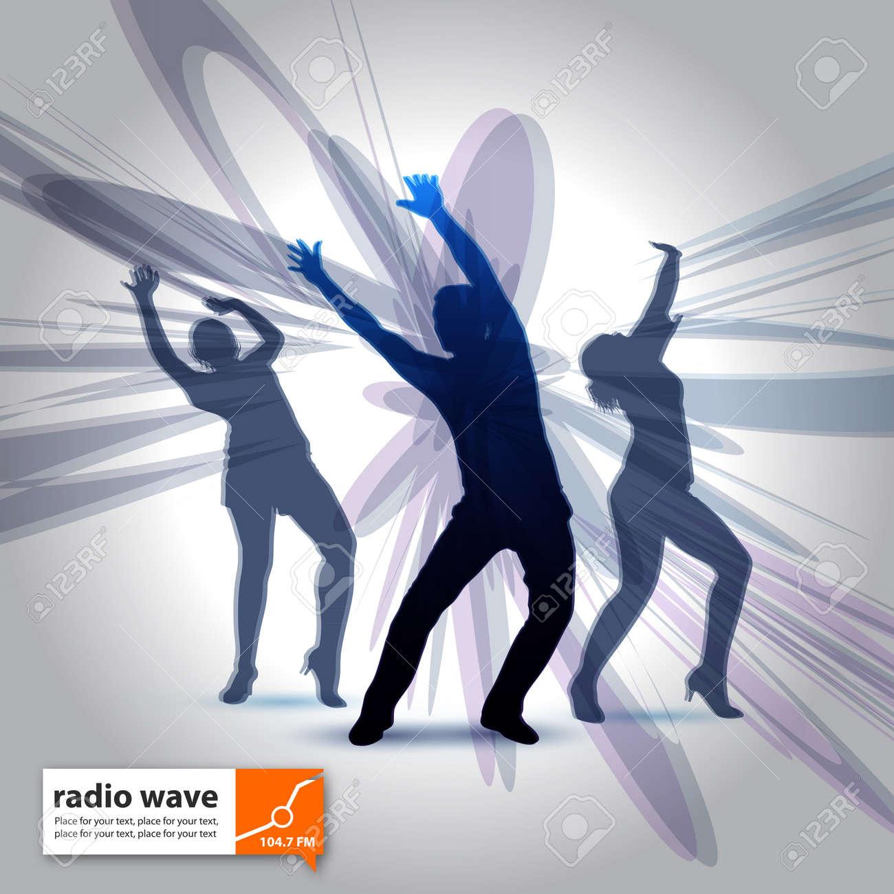 radio wave Stock Vector - 16643100