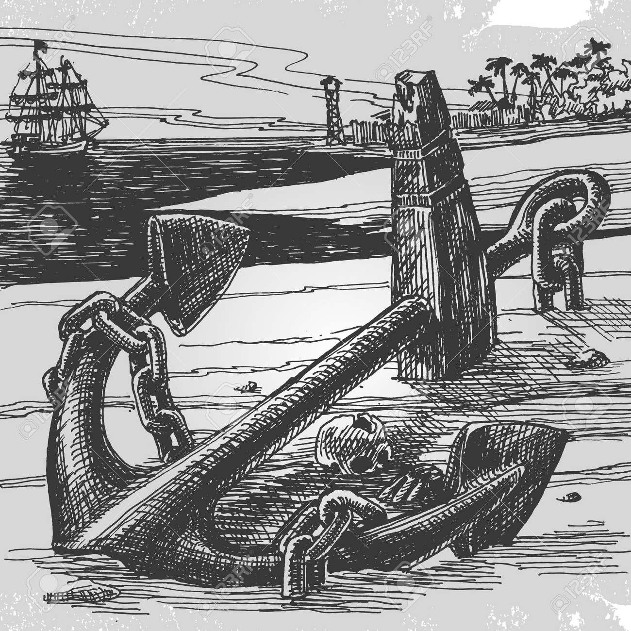 Sailing Stock Vector - 18597060