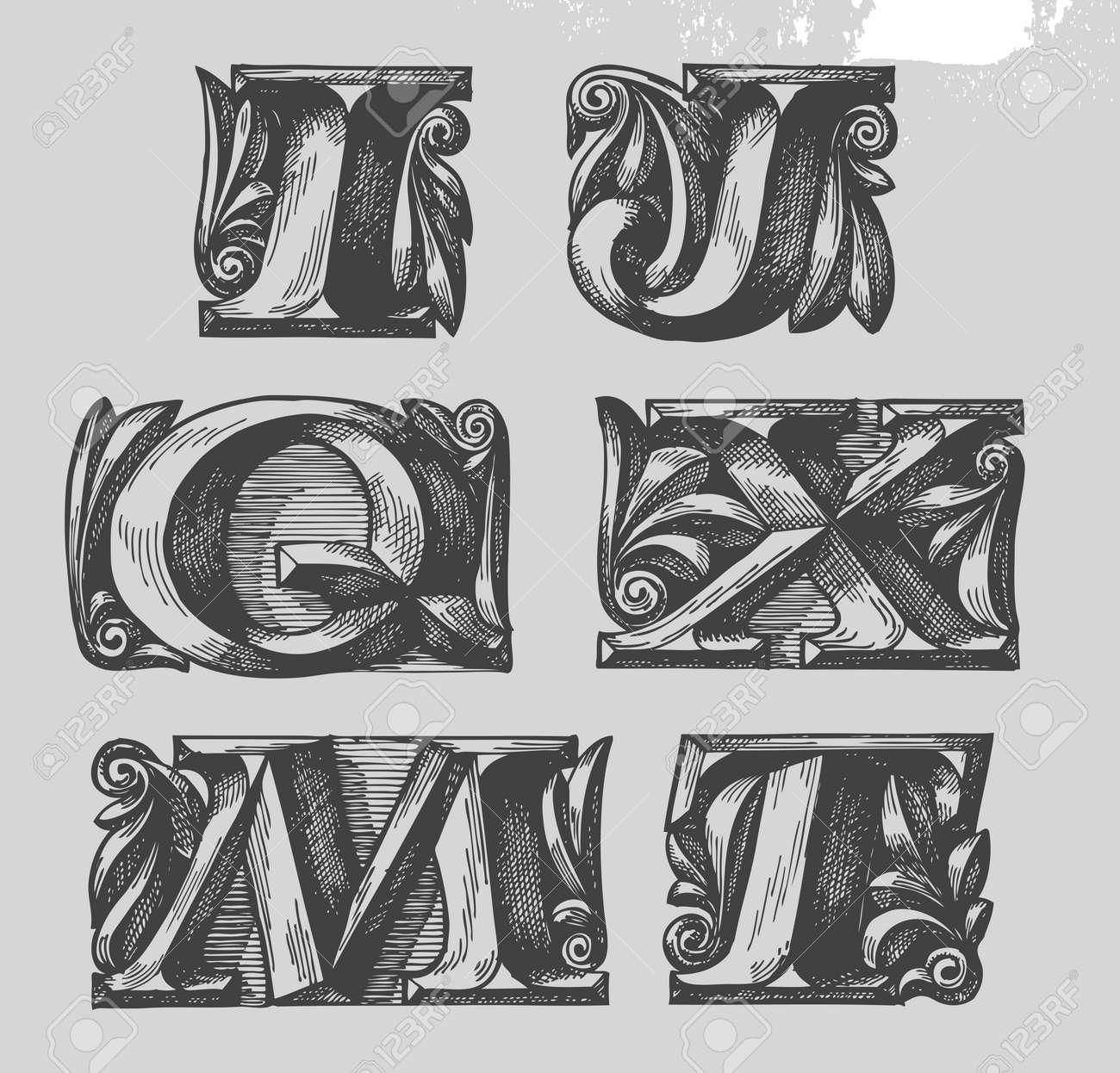 Fonts Stock Vector - 19071788