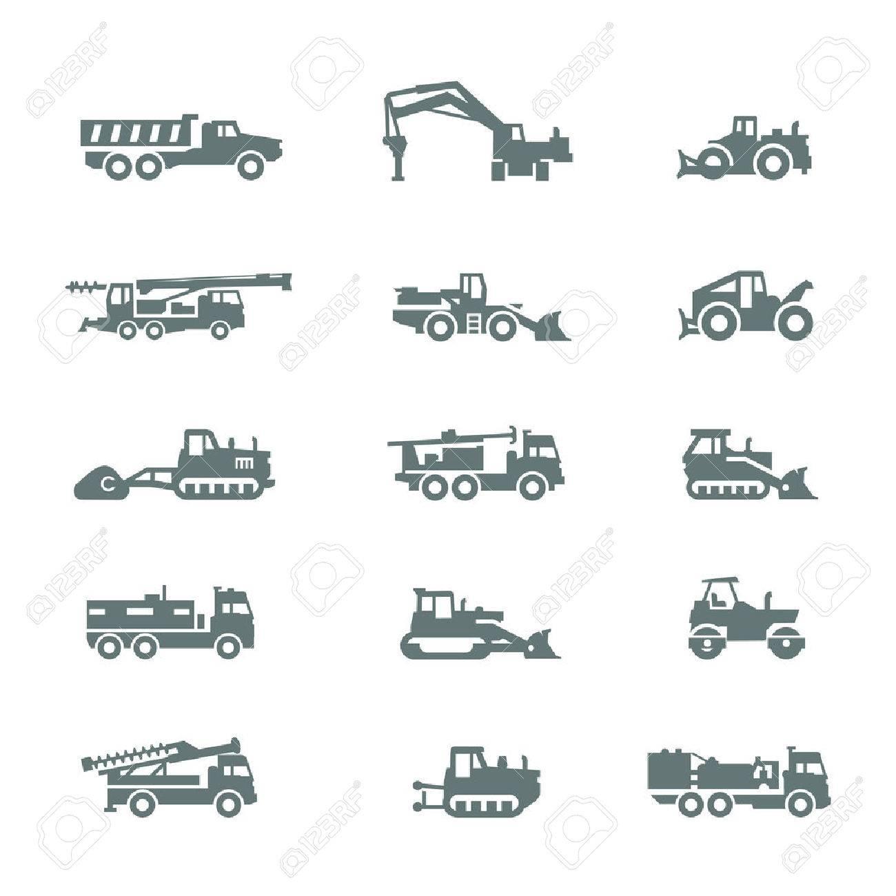 Сonstruction machinery Stock Vector - 23833197