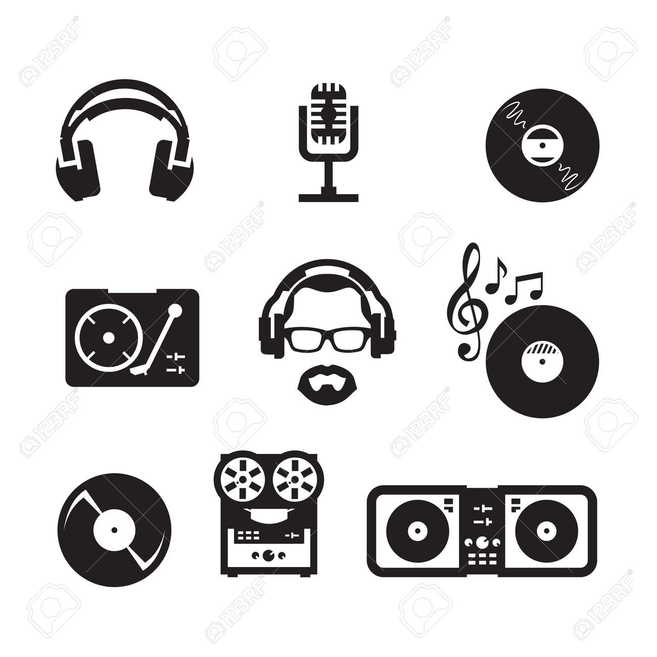 music vector format royalty free cliparts vectors and stock rh 123rf com vector music symbol vector musical notes