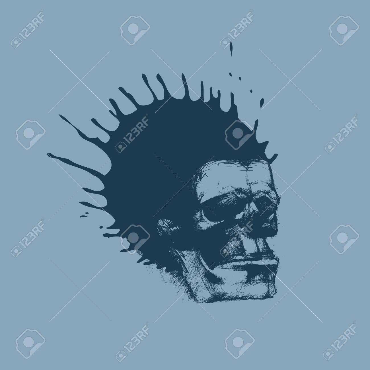 Skull  Vector Stock Vector - 26243459