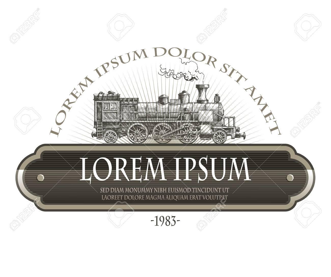 Vintage steam train - 29353101
