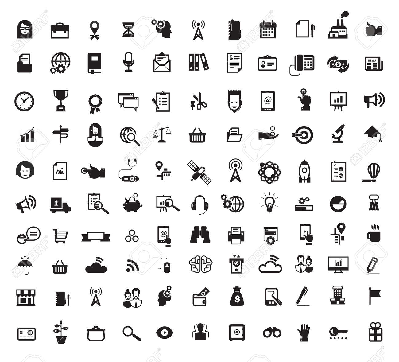 Icons. Vector Format.jpg Royalty Free Cliparts, Vectors, And Stock ...