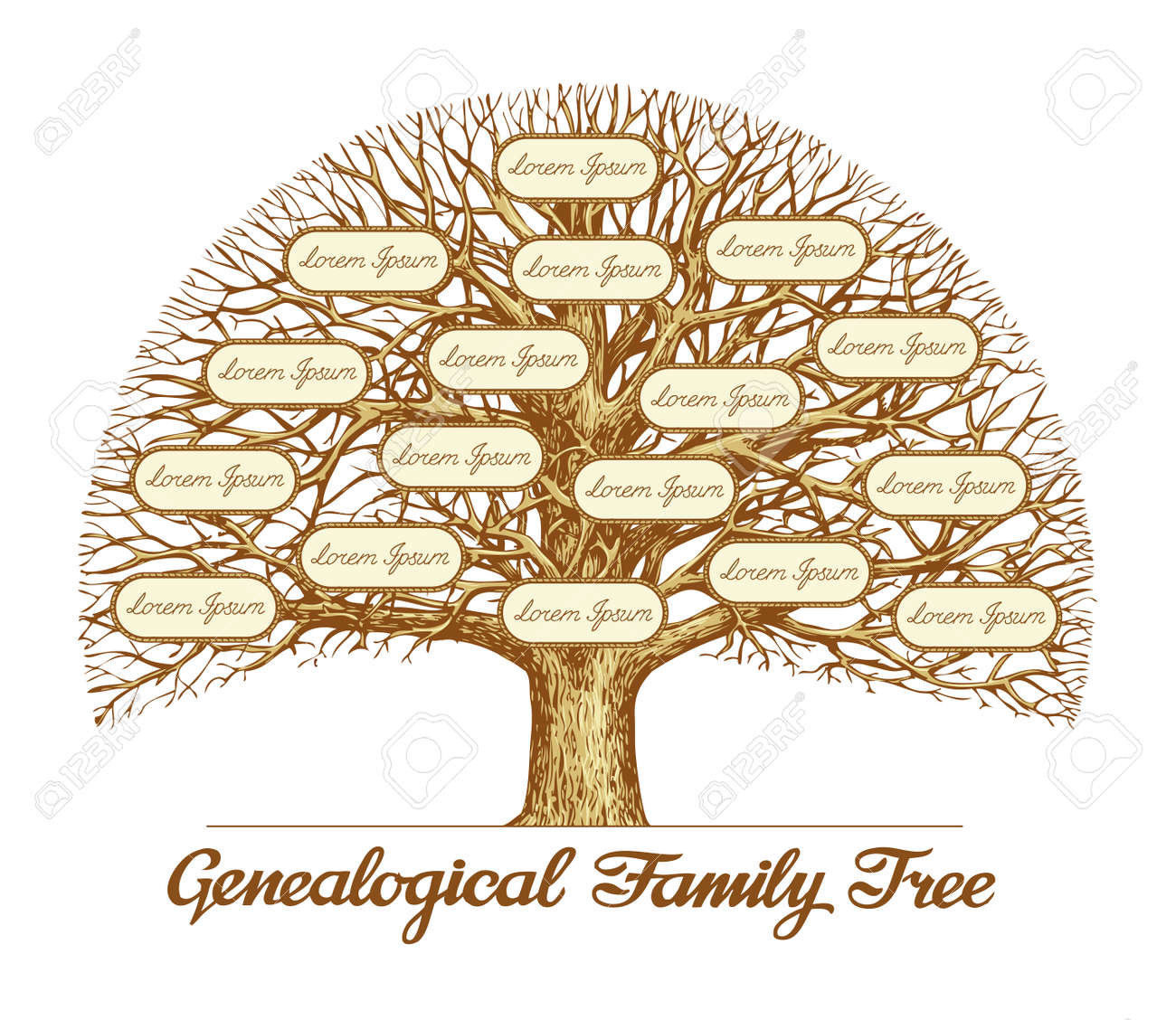 pictures of a family tree