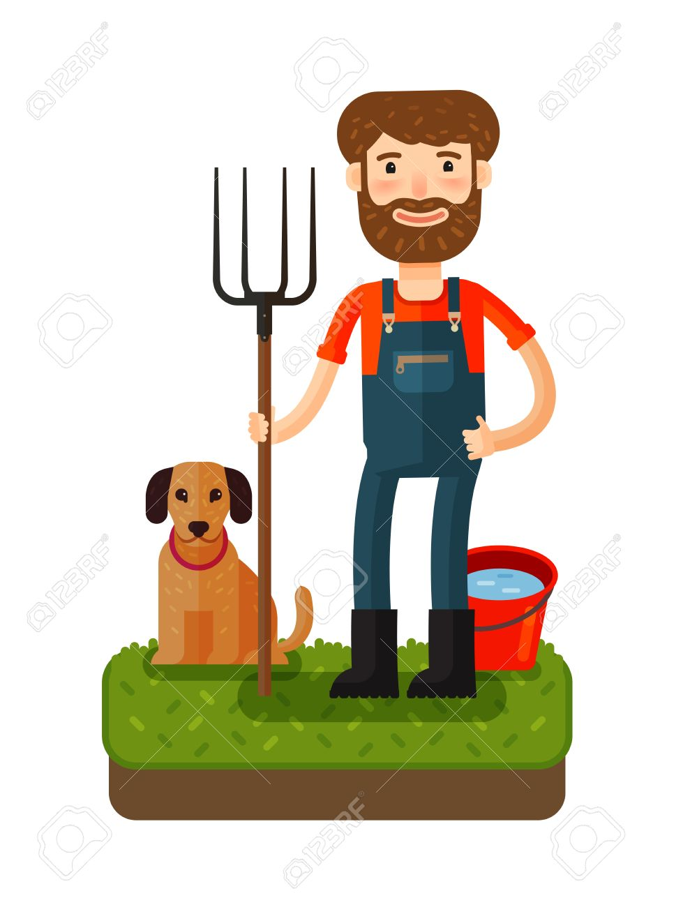 Farmer clipart, Farmer Transparent FREE for download on WebStockReview 2020