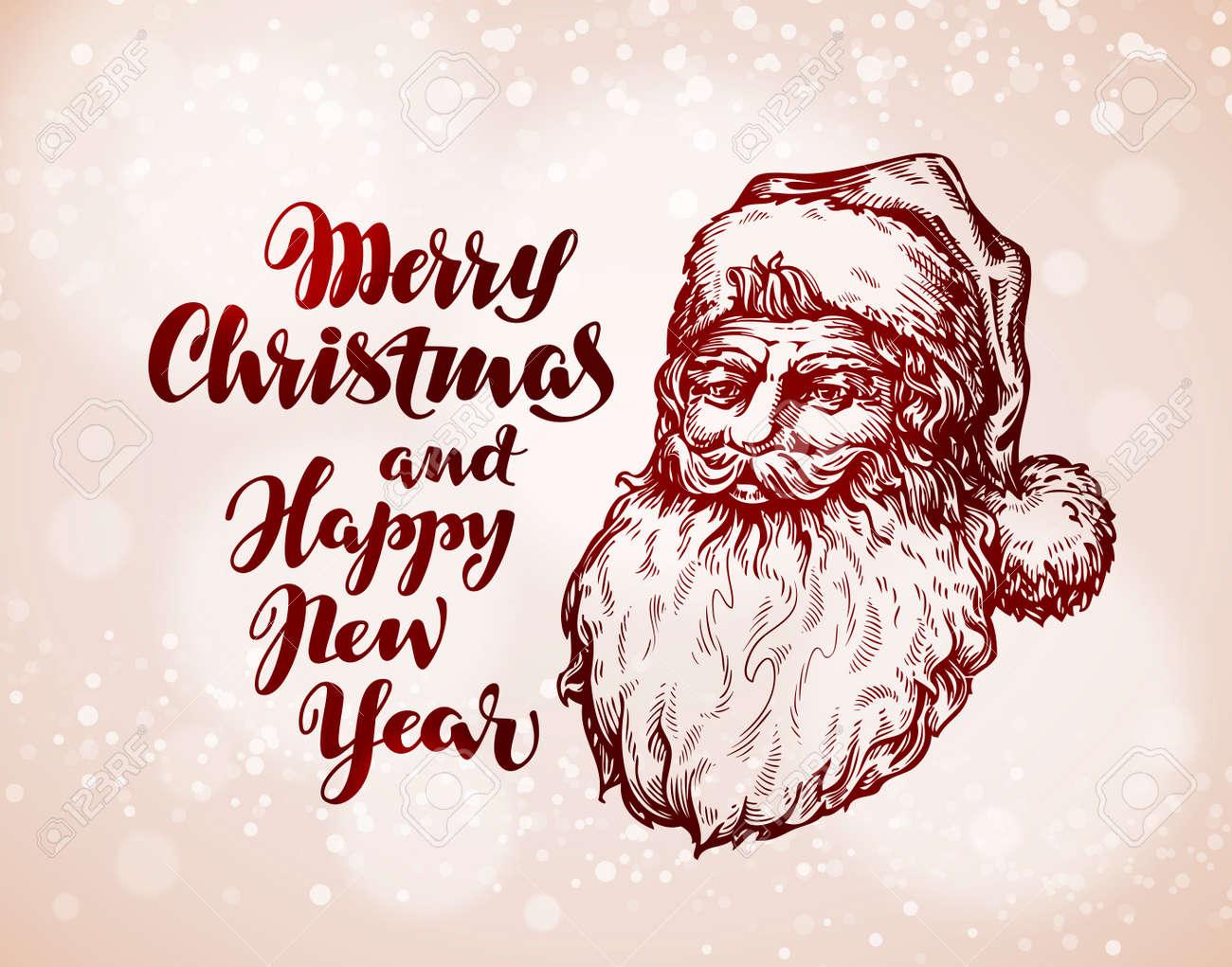 Christmas vintage greeting card santa claus vector royalty free christmas vintage greeting card santa claus vector stock vector 67209072 kristyandbryce Choice Image