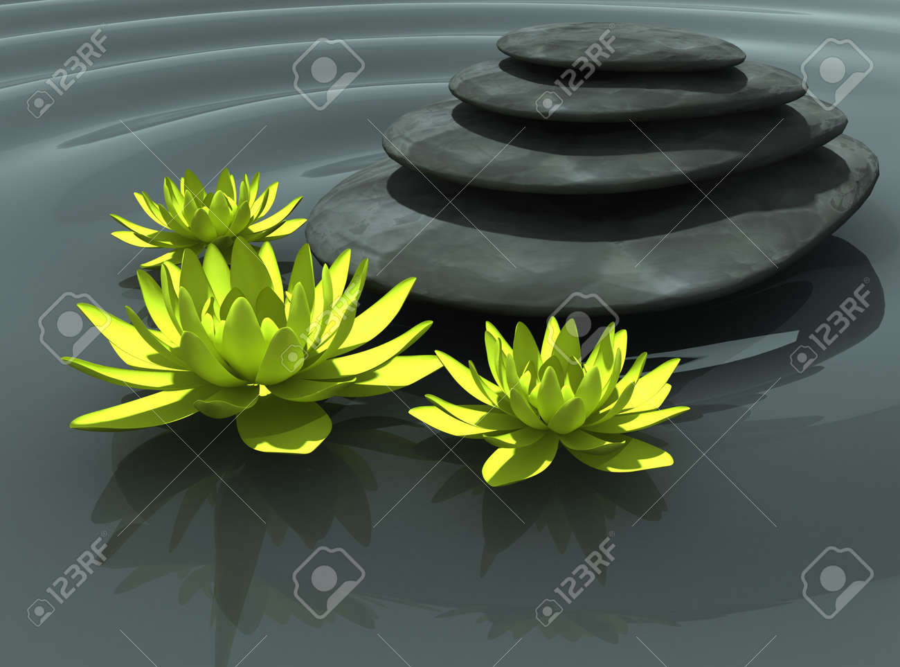 secret nature of Zen Stock Photo - 11187577