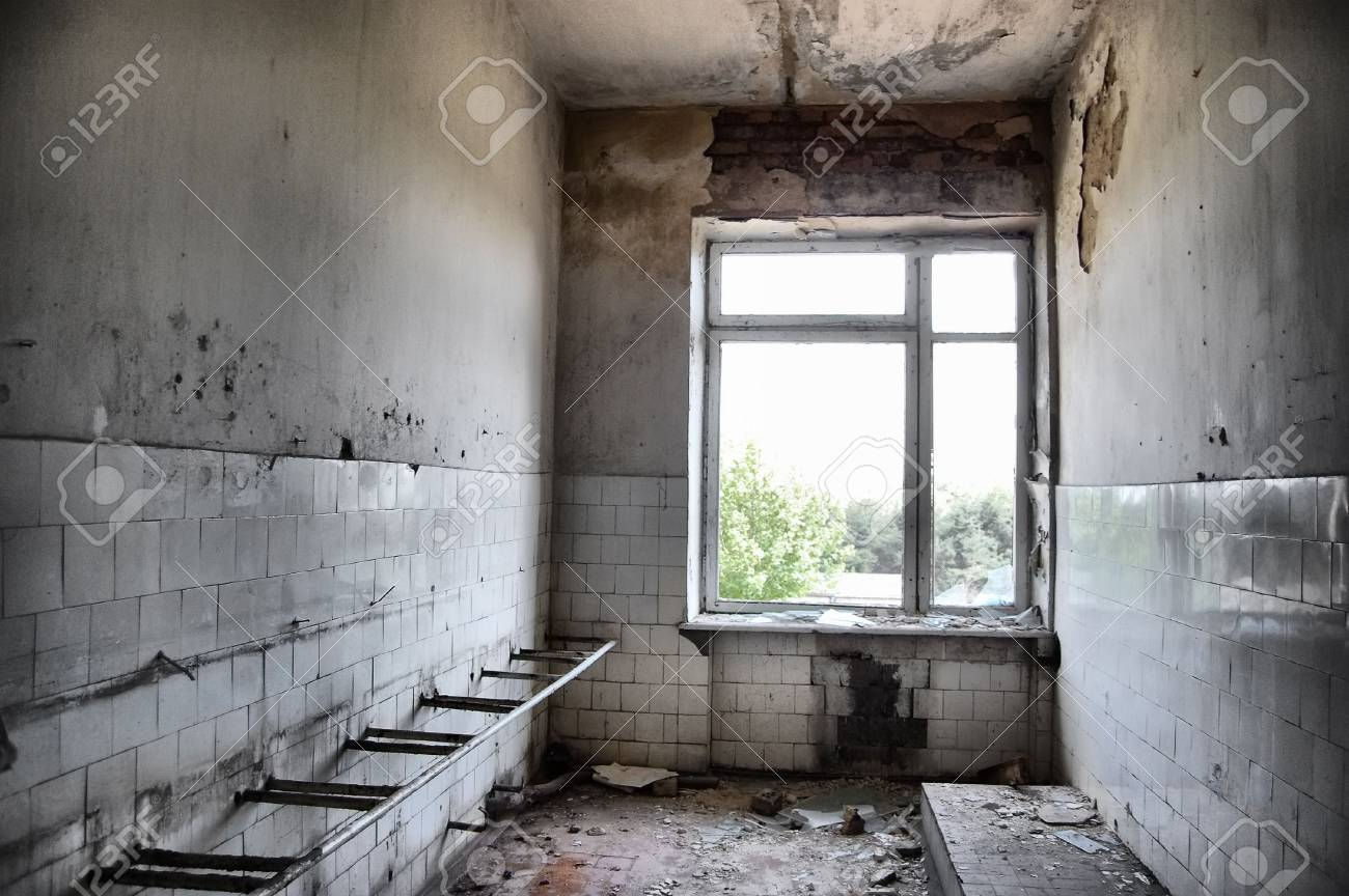 Lost city.Near Chernobyl area.Kiev region,Ukraine.HDR Stock Photo - 7504340