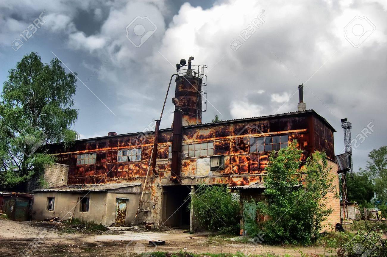 Lost city.Near Chernobyl area.Kiev region,Ukraine Stock Photo - 7532254